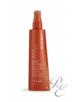 Styling spray which protects and smoothes the hair